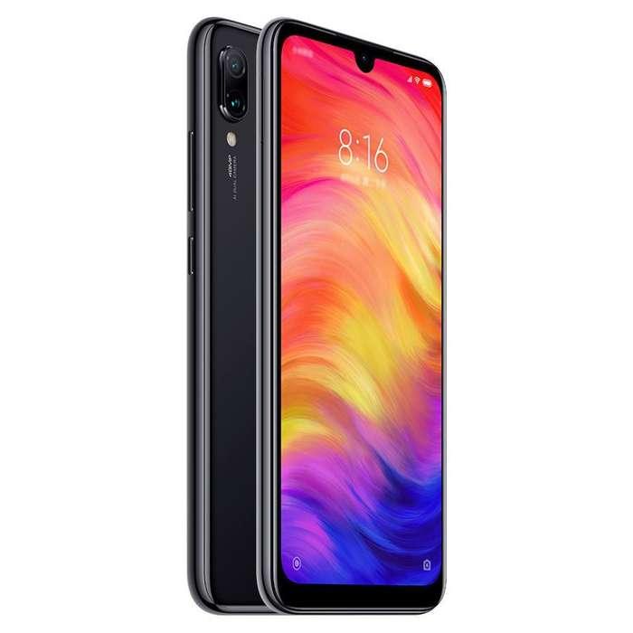 Xiaomi Redmi Note 7 3GB 32GB Space Black Sellado Garantia Boleta