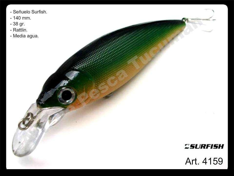 Señuelo Surfish mojarra. Art. de Pesca Tucuman.
