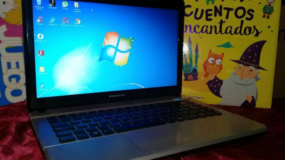 Notebook Philco 500 Gb 4 Ram W7 Completa
