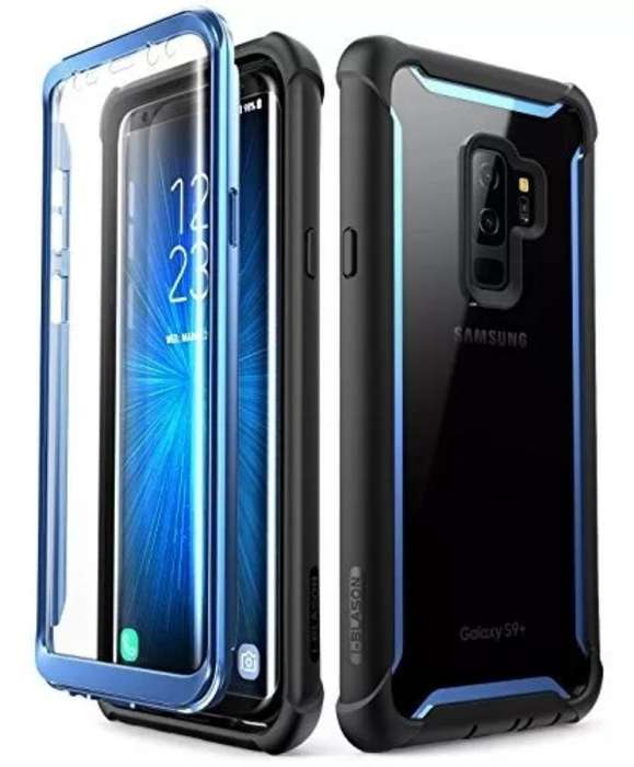 Protector S9 Plus Clear Blue