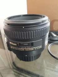 Lente Nikon Nikkor Afs 50mm F1.4g