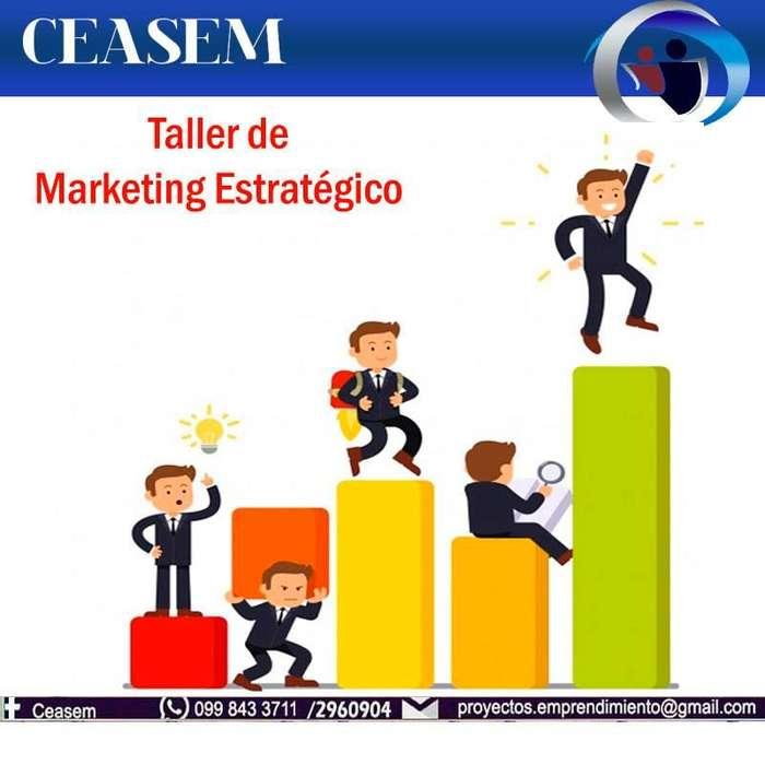 TALLER DE MARKETING ESTRATÉGICO PARA NEGOCIOS Y RESTAURANTES