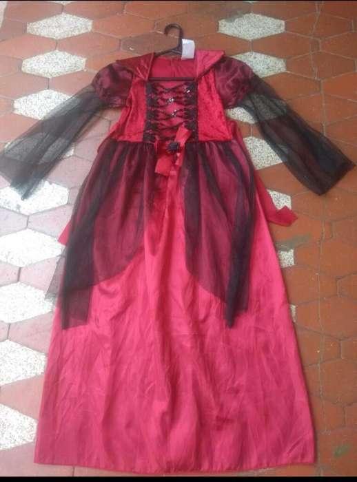 Vendo Disfraz de Reyna Vampiresa # 8