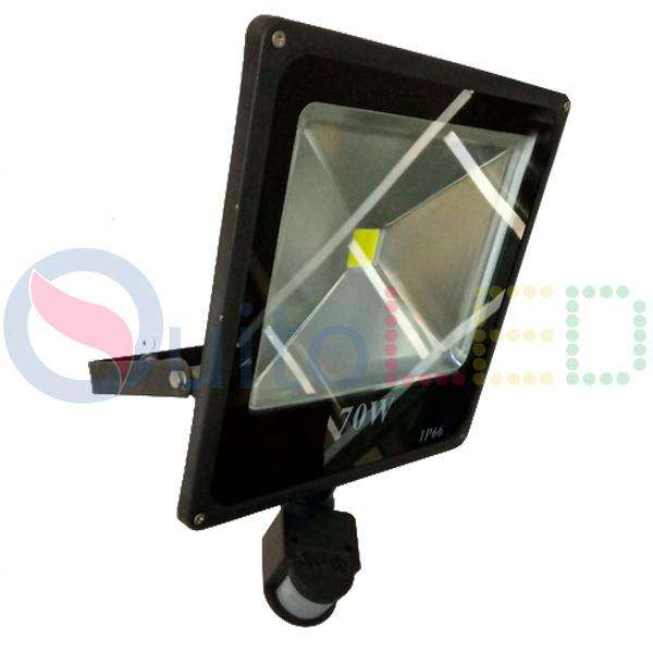 Reflector Led 70w Con Sensor De Movimiento Quitoled