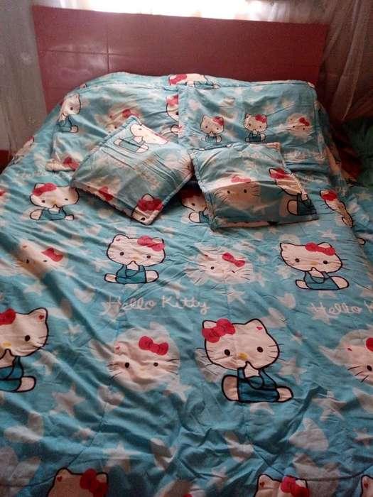 Edredón Hello Kitty Doble Faz