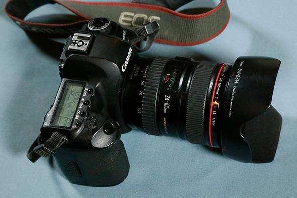 Cámara Canon 5D