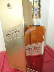 Whisky Johnnie Gold 1 Litro