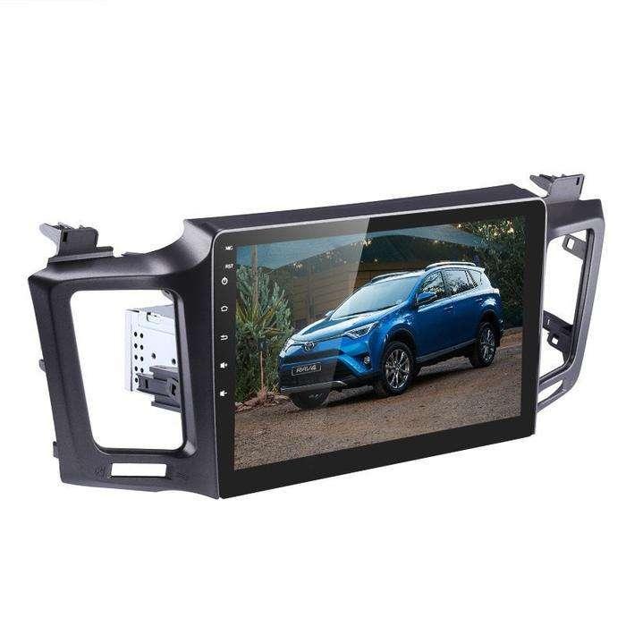 RAV4 TOYOTA 2013 2017 ANDROID WIFI GPS CD DVD USB BLUETOOTH AUTORADIO MAS CAMARA DE RETROCESO MODELO ORIGINAL