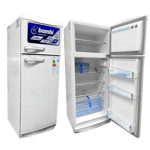 Heladera Bambi con Freezer // 239 litros // Modelo 2F1200 // <strong>heladeras</strong> // Tu Hogar Online