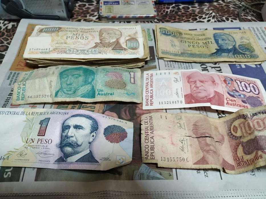 Vendo Lote de Billetes de Argentina Anti