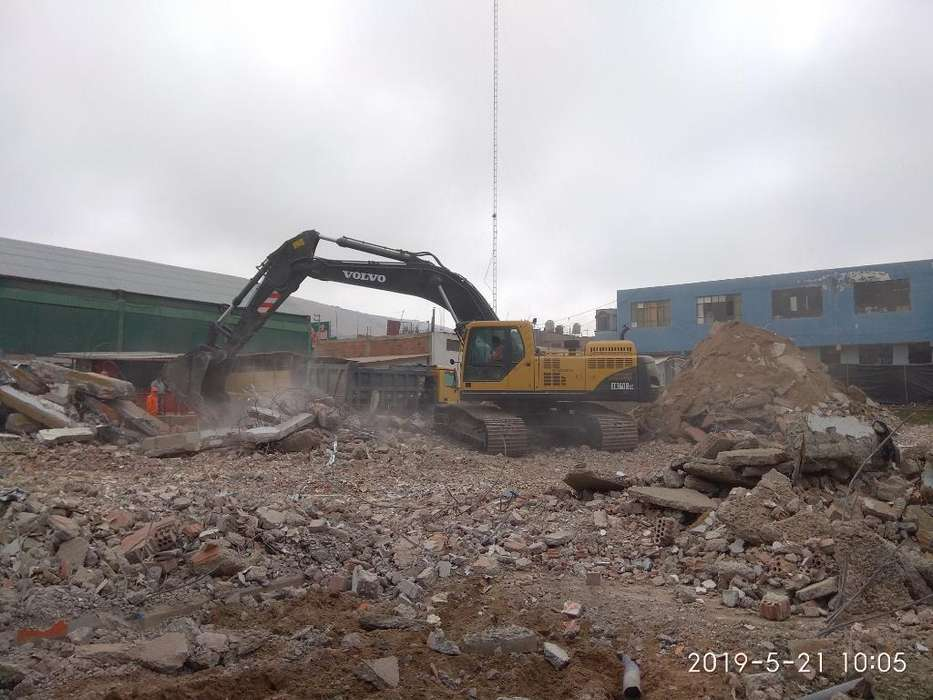 Alquilo Vendo Excavadora Volvo Ec360blc