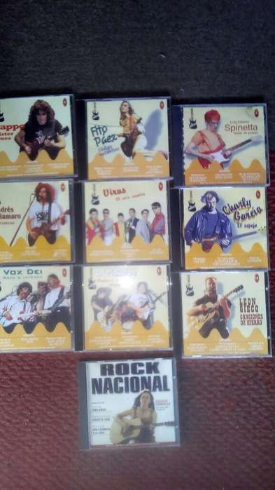 Cds Rock Nacional La Coleccion