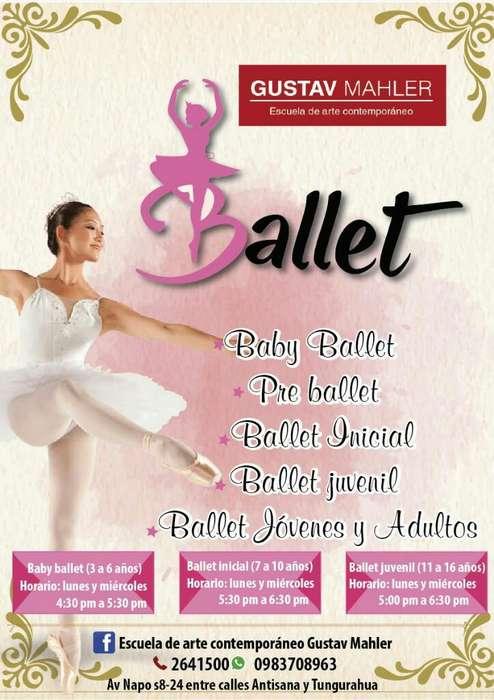 Ballet en El Sur de Quito