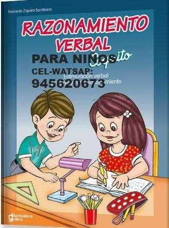 CLASES PARTICULARES RAZONAMIENTO VERBAL COMUNICACIÓN NIÑOS PRIMARIA