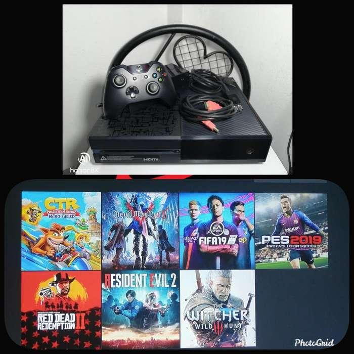 Xbox One 1 Control Y 6 Juegos Digitales