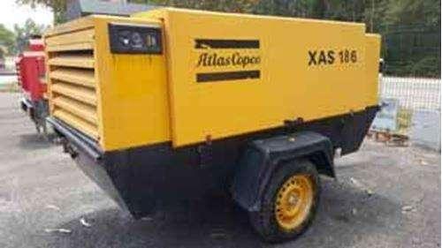 COMPRESORA ATLAS COPCO XAS186 DE 375 CFM