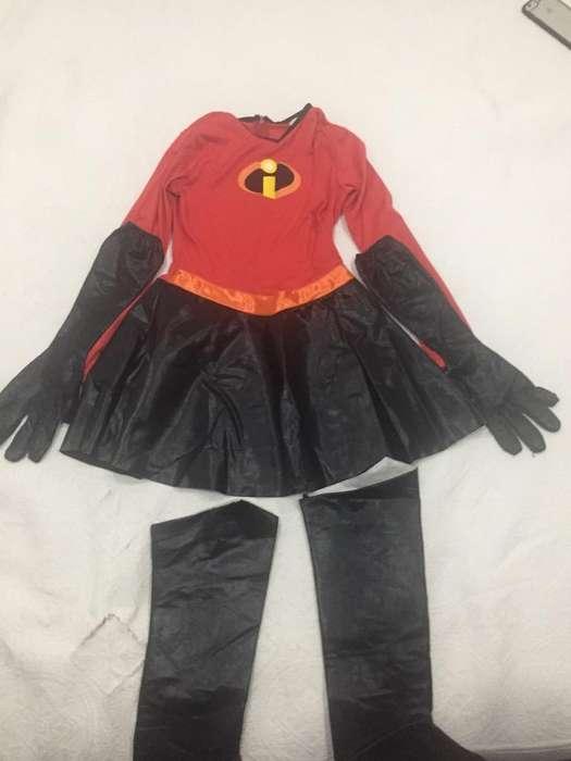 Disfraz Increible Niña Talla 10