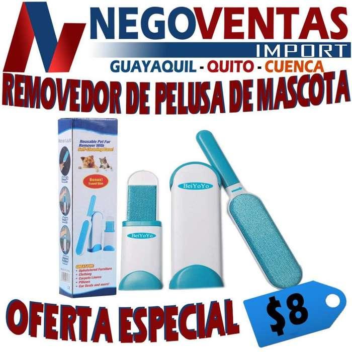 REMOVEDOR DE PELUSAS PARA MASCOTAS
