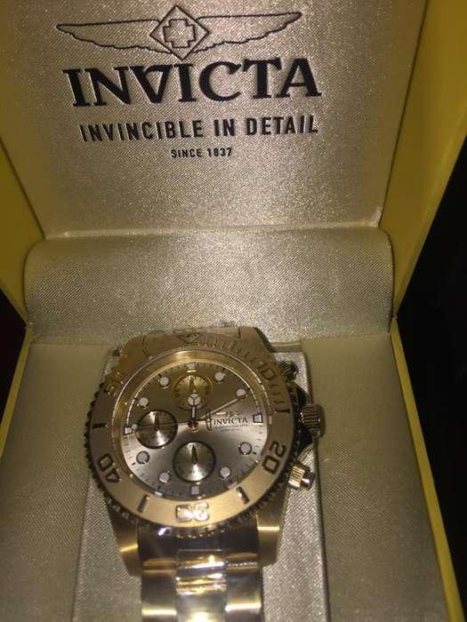 Reloj Invicta Chapado en <strong>oro</strong>