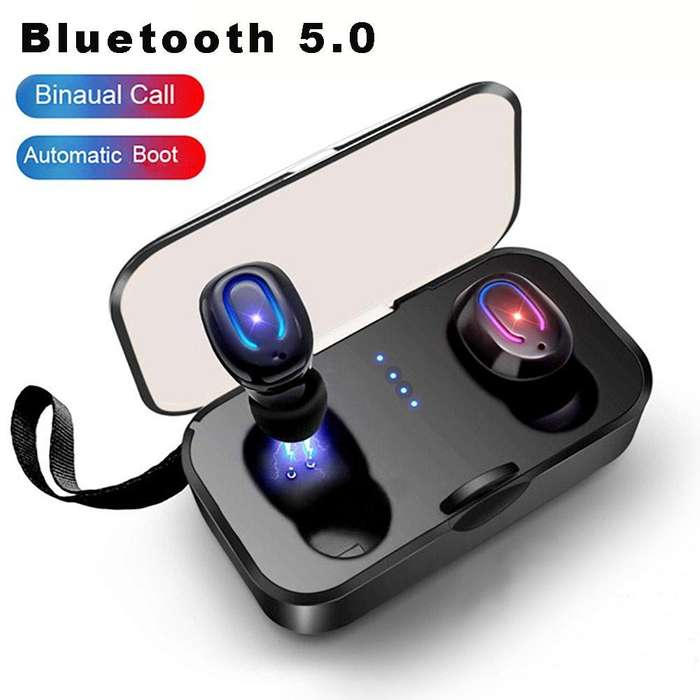 Audifonos T-18s Auriculares Bluetooth 5,0 Inalambricos Tws ergonomicos 2019 ipx5