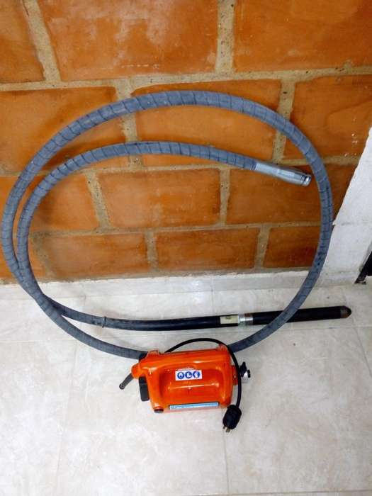 Vibrador para concreto cabezal de 40 mm 110 volt 3HP