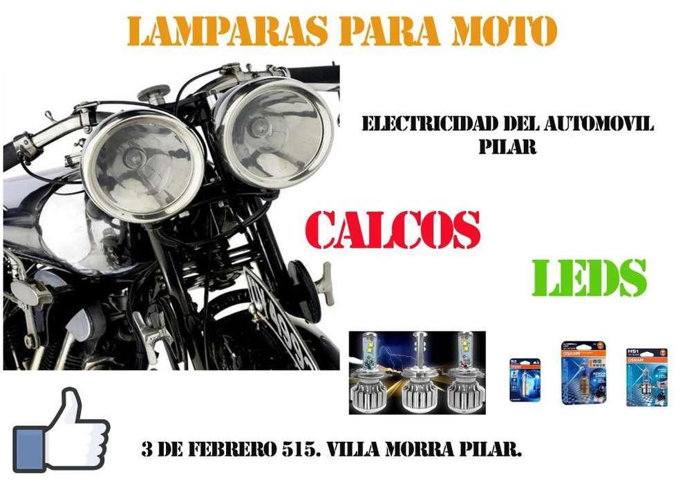 lamparas para moto en pilar