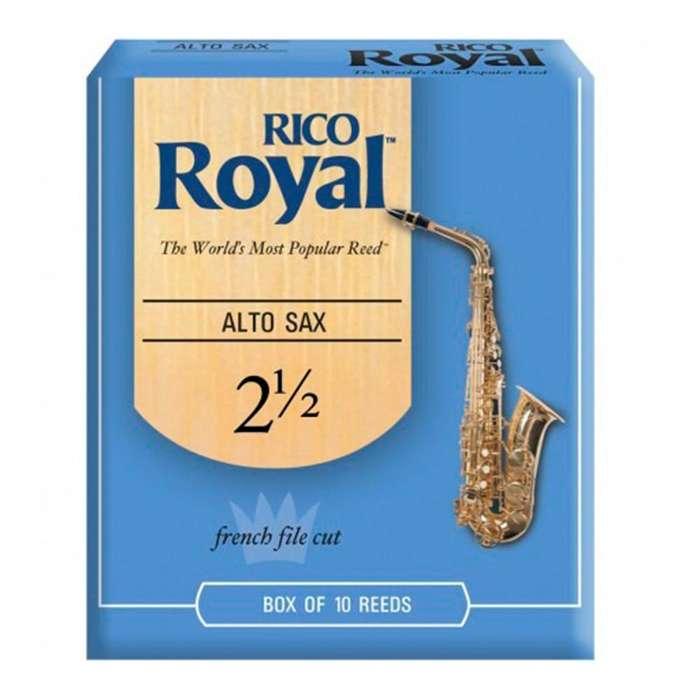 Combo Rico Royal BN Cana Saxofon Alto Eb 2 12