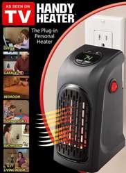 Envio Gratis Calentador de Ambiente Handy Heater Pared