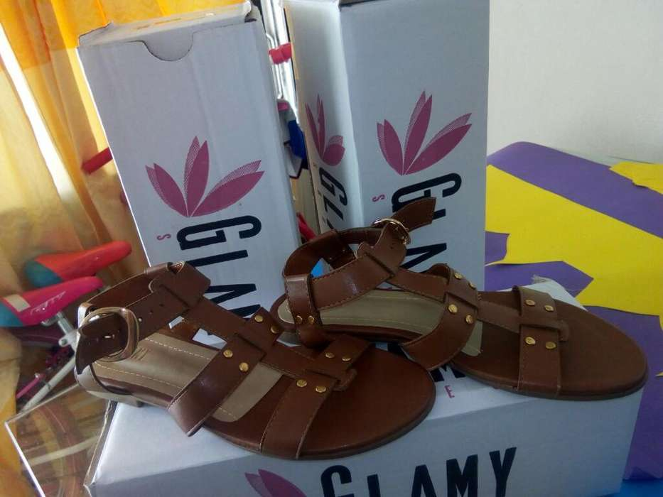 Sandalias Glamy Shoes