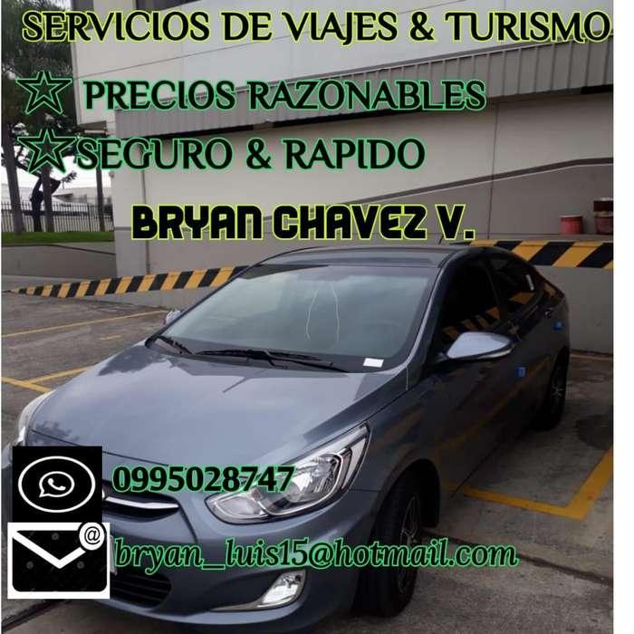 Servicio de viajes y turismo