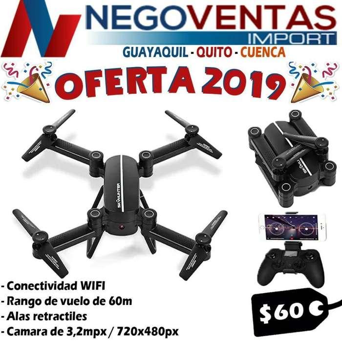 DRONE SKYHUNTER CAMARA HD WIFI