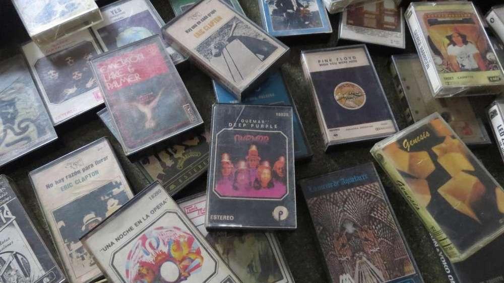 oportunidad cassetes de musica originales musica de grandes bandas