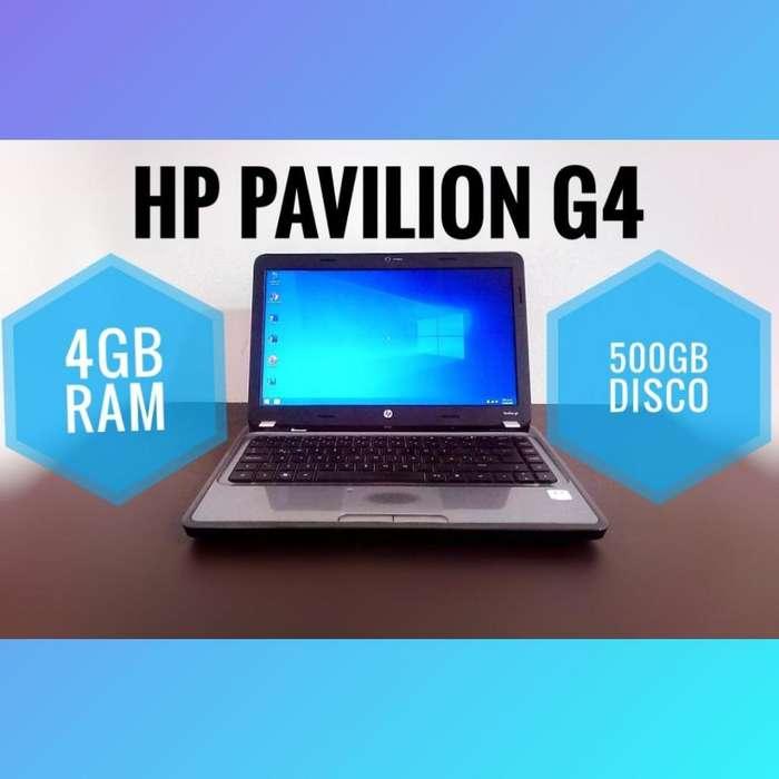 NOTEBOOK HP 500GB DD 4GB RAM BATERÍA