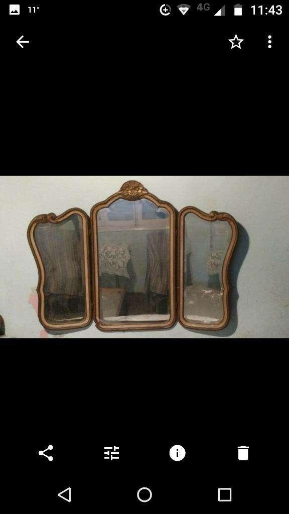 Espejo de 3 Cuerpos Antiguo