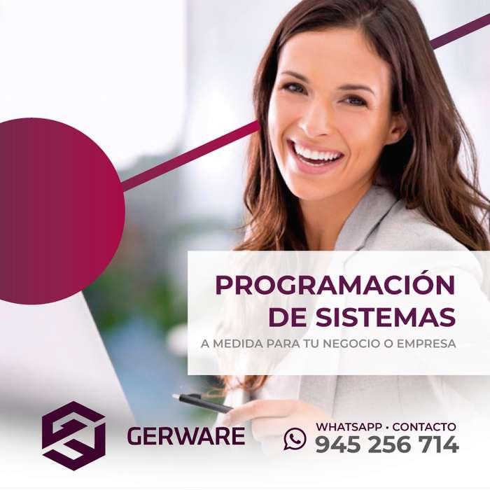 Gerware :: Sistema de Control de Inventarios y Facturación Electrónica // Celular 945256714
