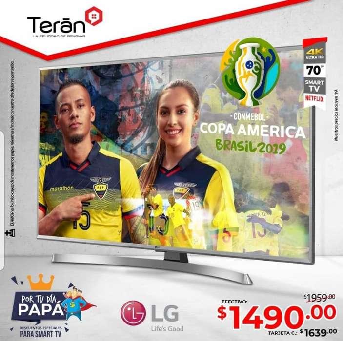 Televisor Smart TV 70 pulgadas Full HD LG