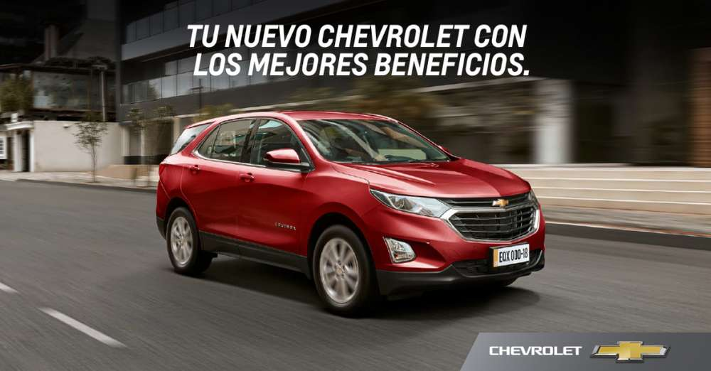 <strong>chevrolet</strong> Equinox 2018 - 0 km