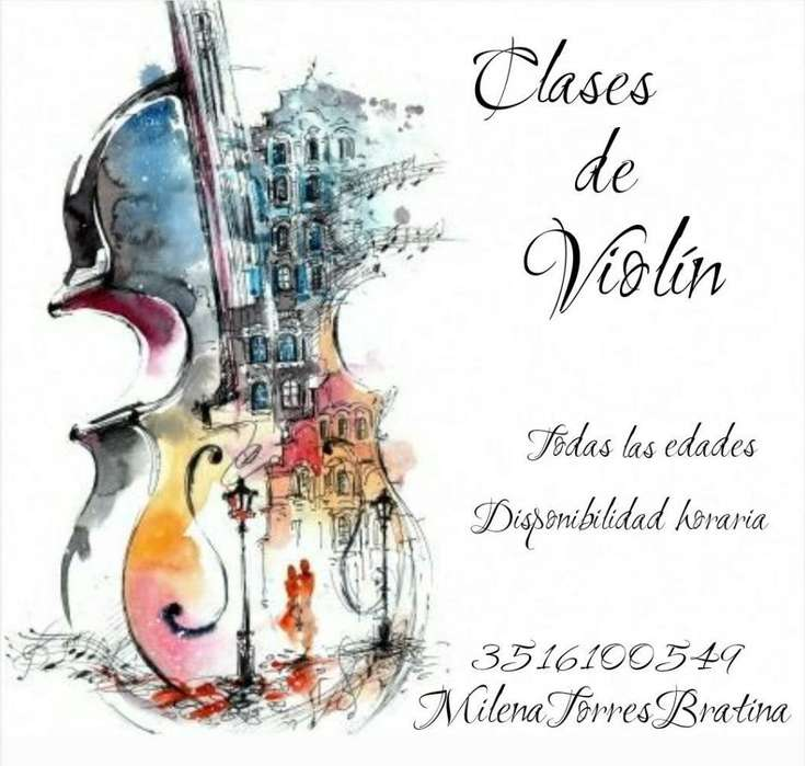 Clases de Violín en Córdoba, Zona Sur