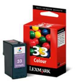 Lexmark 33 Color 18c0033 Z812 P915 P315 X3330