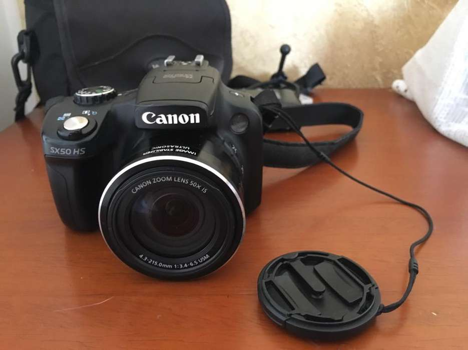 Camara Canon Powershot Sx50Hs
