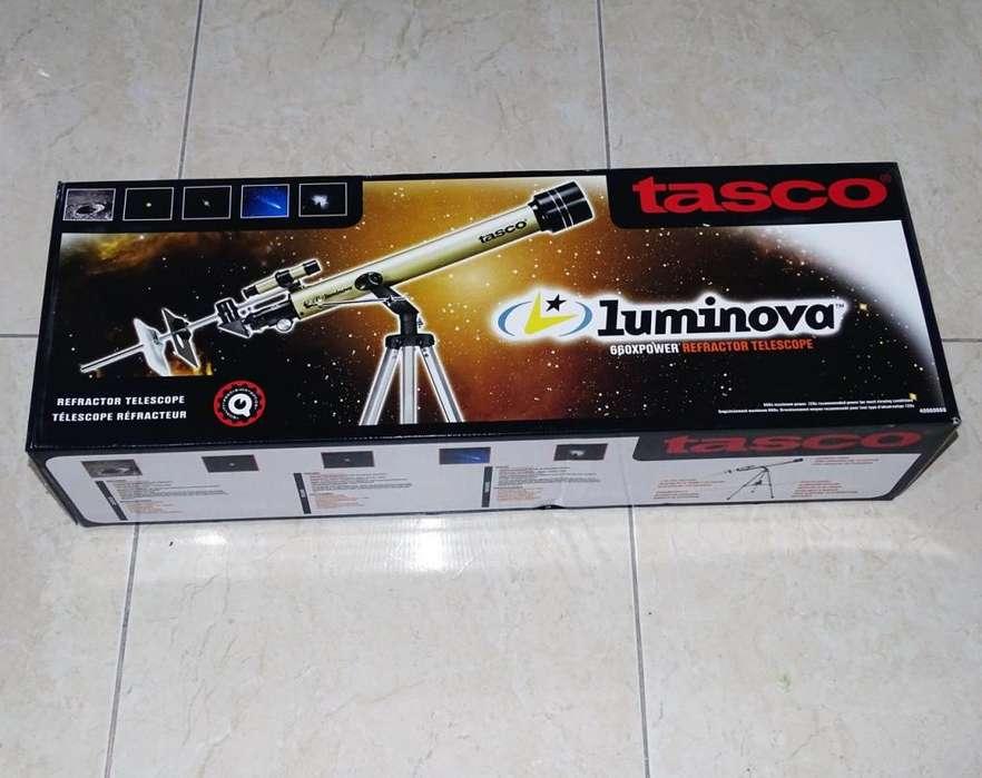 TELESCOPIO TASCO LUMINOVA 660X 60MM NUEVO
