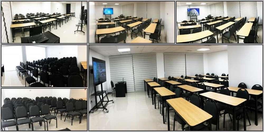 Alquiler aula sala de capacitación Lince