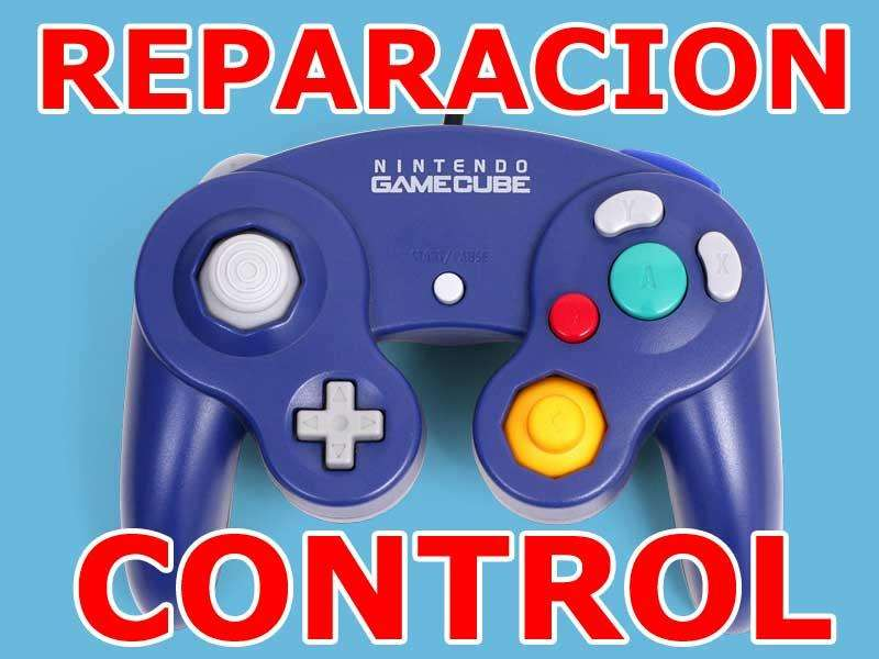 Control Gamecube Reparacion Arreglo Clinica Control Gamecube