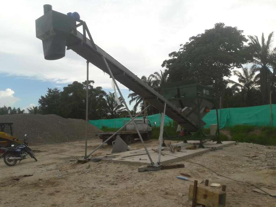 concretos - tornillo transportador sin fin