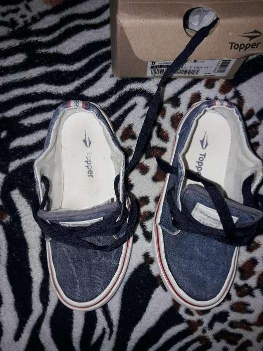 Zapatilla Jeans Numero 27