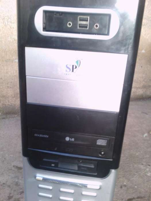 Torre Cpu Basica Windows 7 Office en 120