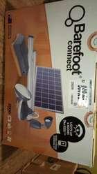 Sistema de iluminación con panel solar