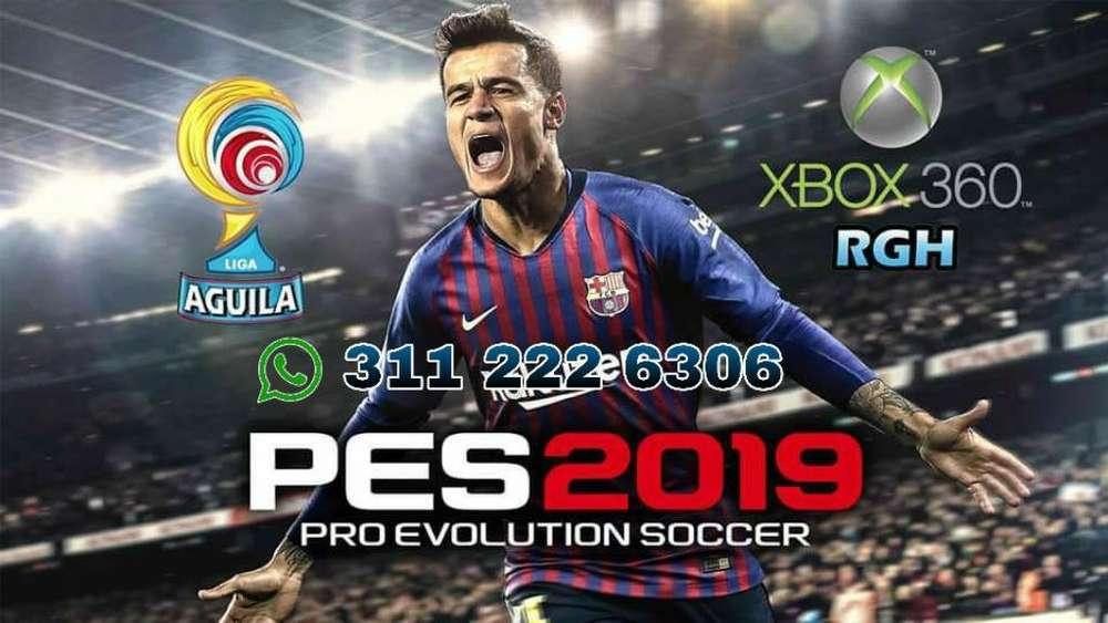 Pes 2019 para Xbox 360 5.0 Original