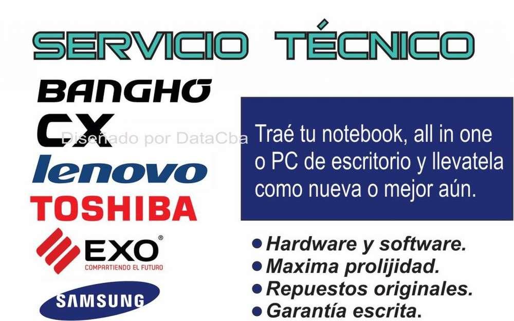NOTEBOOKS SERVICIO TÉCNICO LENOVO BANGHO CX EXO
