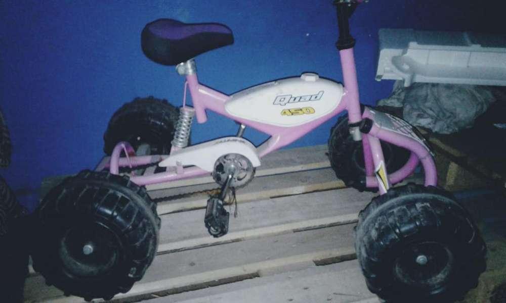 Vendo Cuatri a Pedal